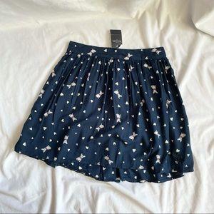 NWT Abercrombie Cute Doggie Skirt